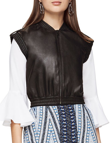 Bcbg Maxazria Ace Knit Jacket-BLACK-Small