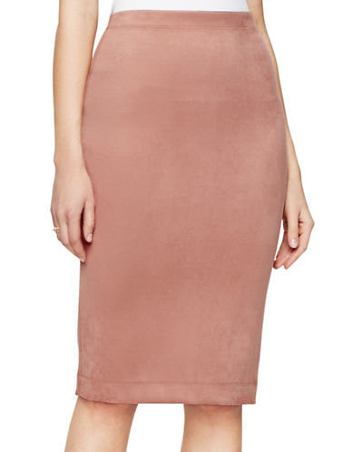 Bcbg Maxazria Lyric Knit Skirt-PINK-Large