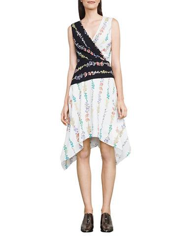 Bcbg Maxazria Hadley Floral-Print Dress-NATURAL-0