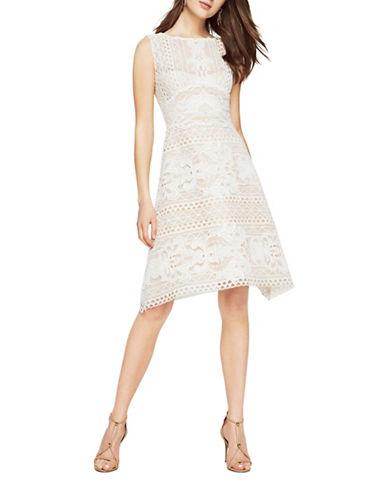 Bcbg Maxazria Kira Lace Dress-NATURAL-4
