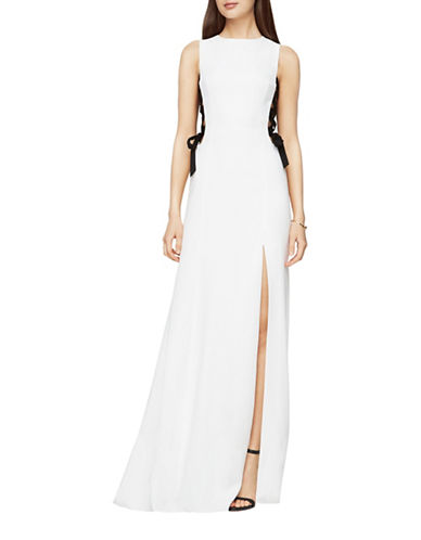 Bcbg Maxazria Daulphine Bow-Tie Gown-NATURAL-8