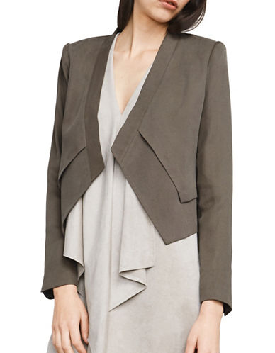 Bcbg Maxazria Lloyd Layered Jacket-GREEN-Small