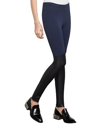 Bcbg Maxazria Hawkins Leggings-BLUE-Small
