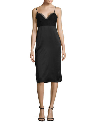 Bcbgeneration Monochrome Shift Dress-BLACK-0