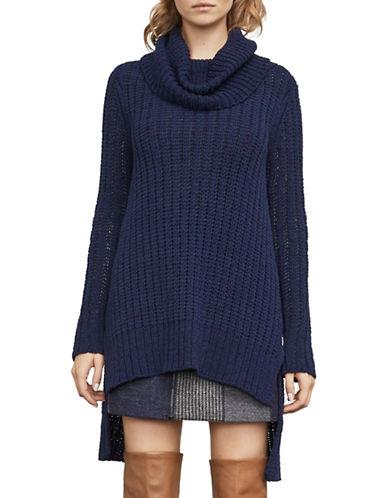 Bcbg Maxazria Jules Hi-Lo Knit Sweater-BLUE-X-Small