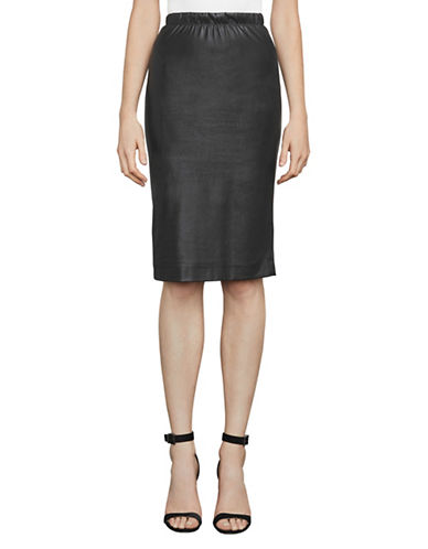 Bcbg Maxazria Lyric Pencil Skirt-BLACK-X-Small