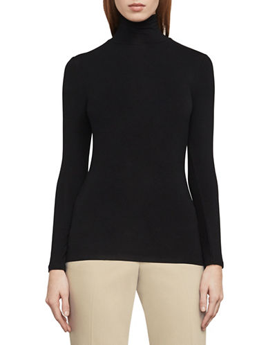 Bcbg Maxazria Kerey Turtleneck Top-BLACK-Medium