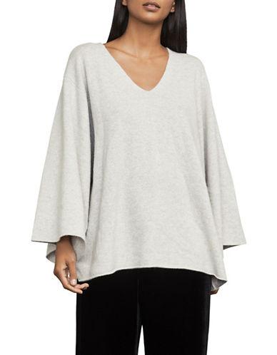 Bcbg Maxazria Masha Oversized Sleeve Merino Sweater-GREY-X-Small/Small