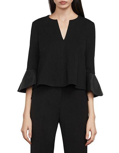 Bcbg Maxazria Valari Bell-Sleeve Top-BLACK-Medium