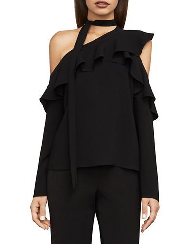 Bcbg Maxazria Veronika One-Shoulder Top-BLACK-Small 89855413_BLACK_Small