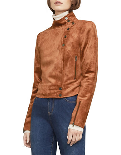 Bcbg Maxazria Hansen Cropped Jacket-BROWN-Large