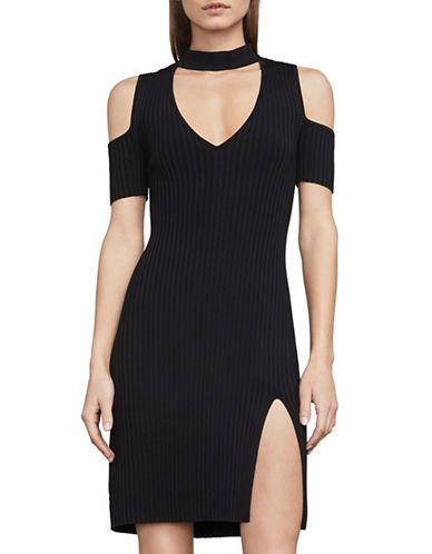 Bcbg Maxazria Zoelle Knit Tunic Dress-BLACK-Medium
