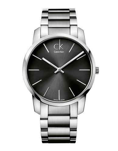 Calvin Klein City Watch-SILVER-One Size