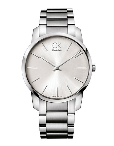 Calvin Klein City Watch-SILVER-One Size