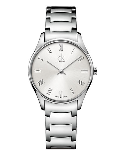 Calvin Klein Womens Classic Watch K4D2214Z-SILVER-One Size
