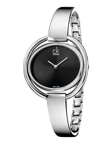 Calvin Klein Impetuous Watch-SILVER-One Size