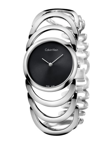 Calvin Klein Body Swiss Watch-BLACK-One Size