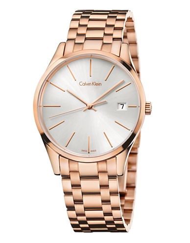 Calvin Klein Calvin Klein Rose Gold Watch-ROSE GOLD-One Size
