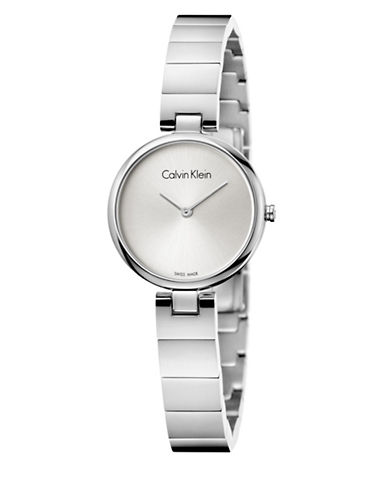 Calvin Klein Authentic Collection Analog Watch-SILVER-One Size