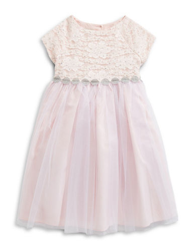 Marmellata Cap Sleeve Ballerina Dress-PINK-2T
