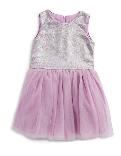 Pippa & Julie Sequin Tutu Dress-MULTI-14