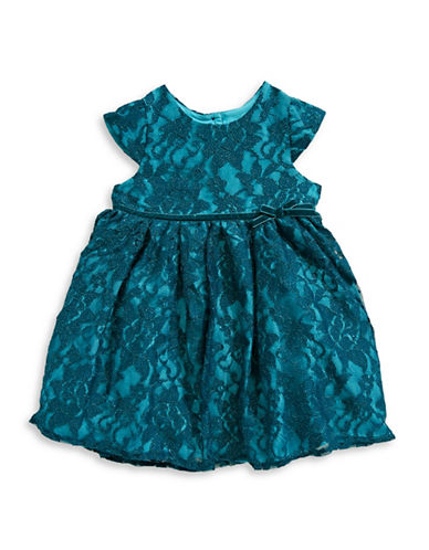 Pippa & Julie Lace Dress-BLUE-5