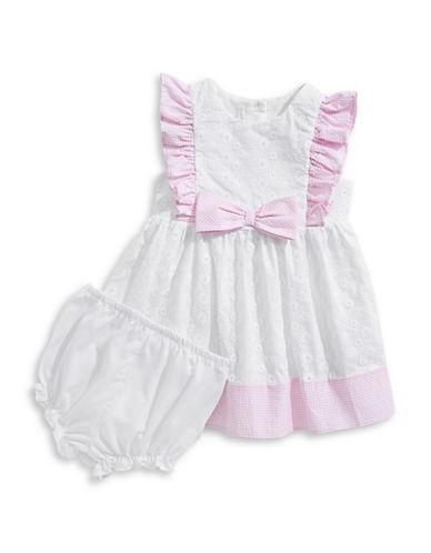 Pastourelle Eyelet Cotton Dress 89919010