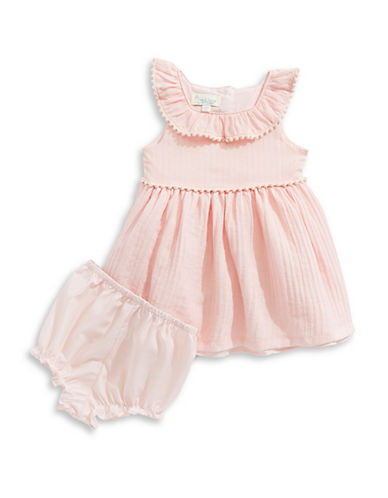 Pippa & Julie Baby Girl's Striped Organza Dress and Bloomers Set 89918630