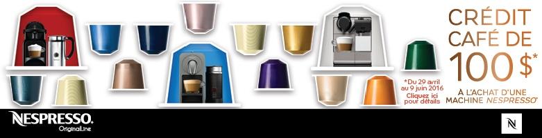 originalline de nespresso nespresso marques en vedette maison la baie d hudson. Black Bedroom Furniture Sets. Home Design Ideas