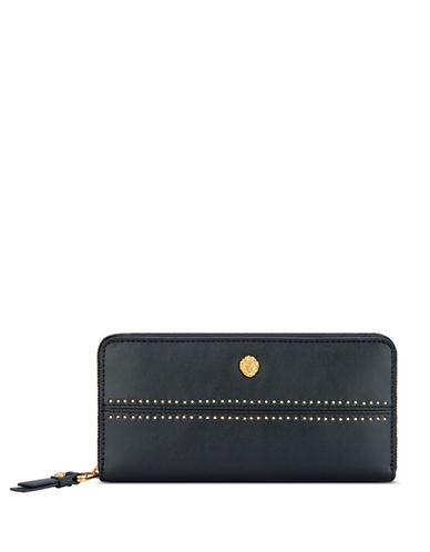 Anne Klein Slim Continental Wallet-BLACK-One Size