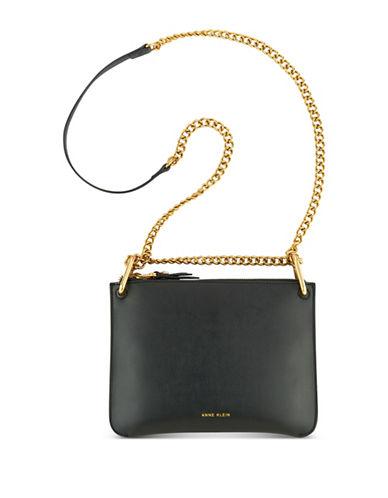 Anne Klein Megyn Crossbody Bag-BLACK-One Size