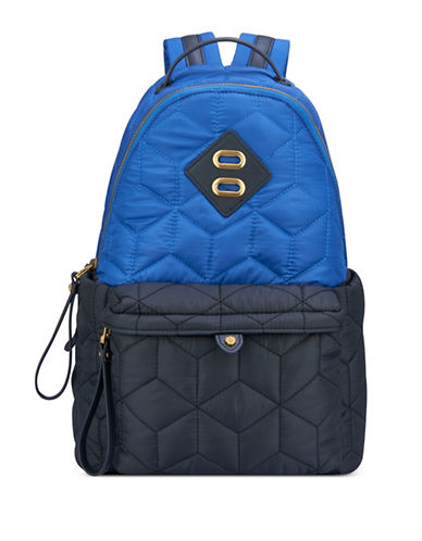 Anne Klein Jane Medium Backpack-NAVY-One Size