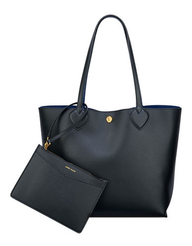 Anne Klein Reversible Tote-BLACK-One Size