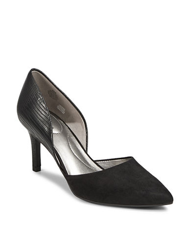 Bandolino Classic Slip-On Pumps-BLACK-6.5