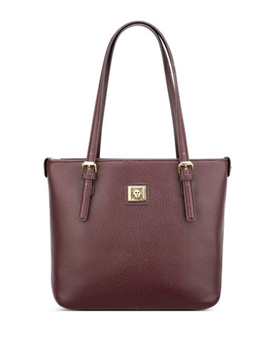 Anne Klein Perfect Small Shopper-PORT-One Size
