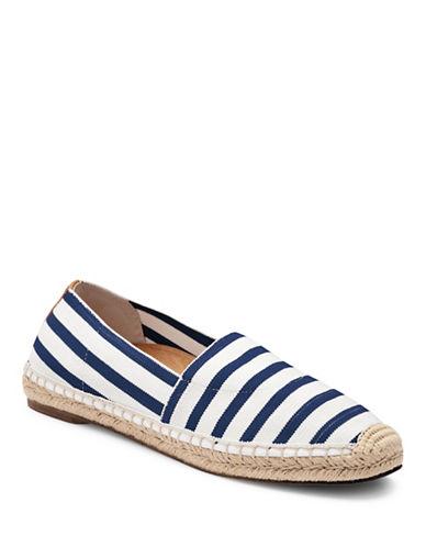 Vionic Valeri Striped Slip-On Espadrille Sneakers-NAVY STRIPE-9