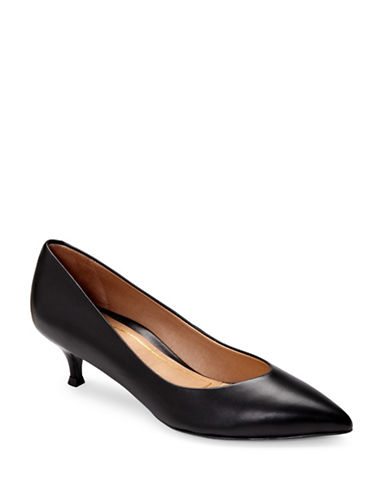 Vionic Josie Kitten Heel Pumps-BLACK-7.5