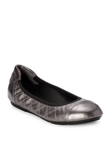 Vionic Ava Ballet Flats-PEWTER-6.5