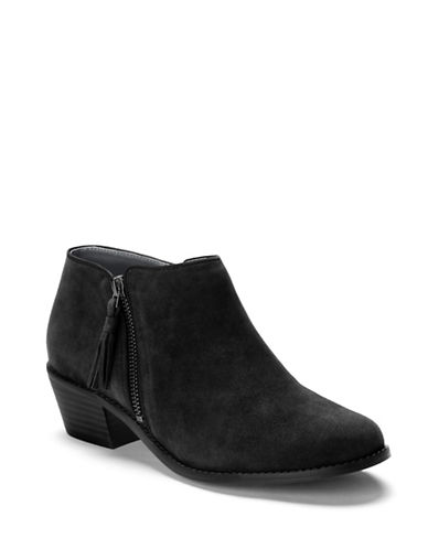 Vionic Joy Serena Booties-BLACK-7.5
