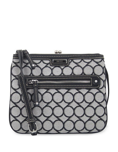 Nine West Jaya Crossbody Bag-BLACK-One Size