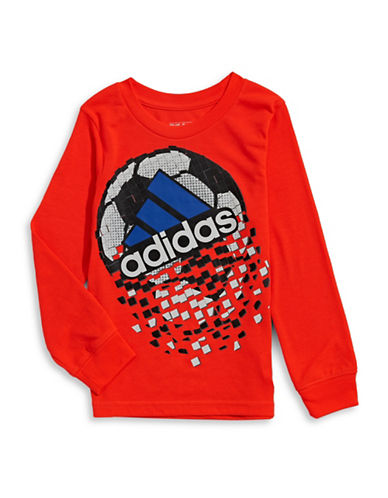 Adidas Game Shattering T-Shirt-RED-7 88509986_RED_7
