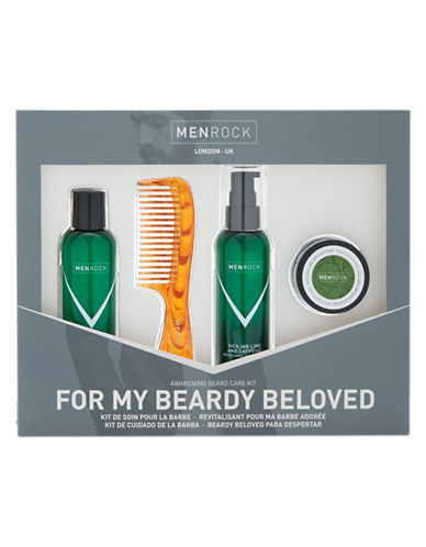 Men Rock Nourishing Beard Care Kit-NO COLOUR-50 ml