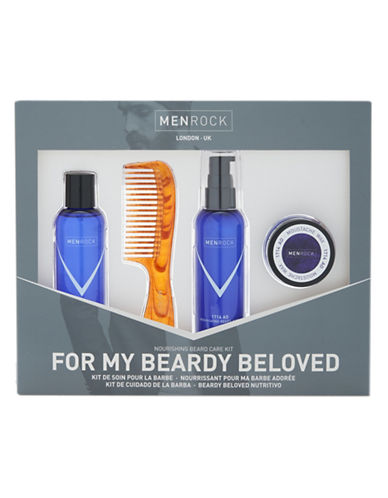 Men Rock Awakening Beard Care Kit-NO COLOUR-50 ml