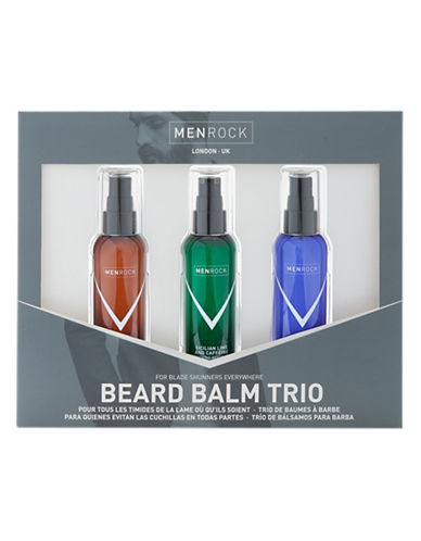 Men Rock Beard Balm Trio-NO COLOUR-50 ml