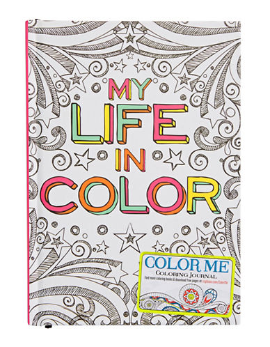 Gibson Books Colouring In Journal-MULTI-One Size