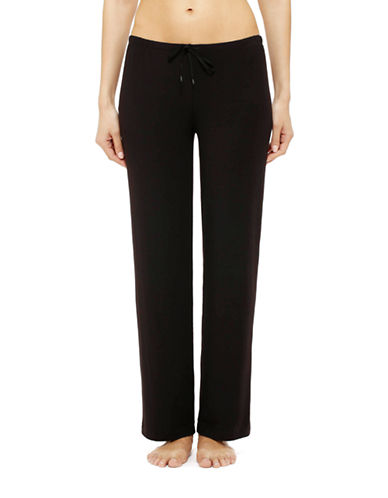 Dkny Seven Easy Pieces Long Pant-BLACK-Medium