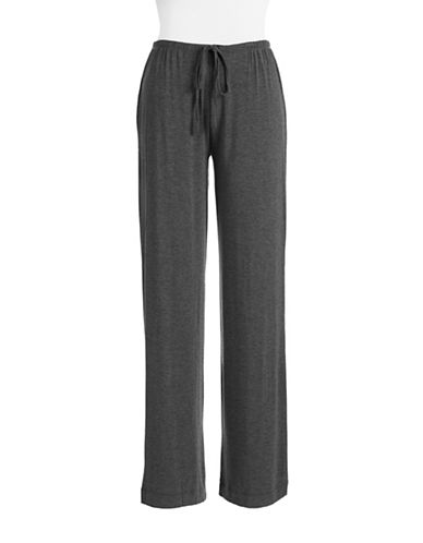 Dkny Seven Easy Pieces Long Pant-CHARCOAL-Small