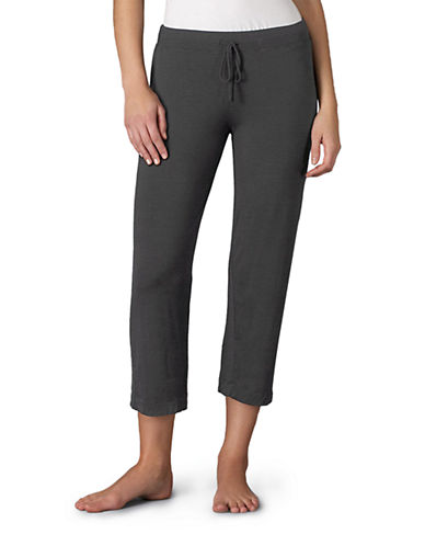 Dkny Seven Easy Pieces Capri Pant-GREY-Large plus size,  plus size fashion plus size appare