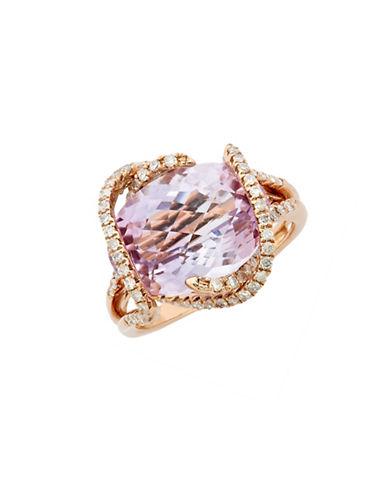 Effy 14K Rose Gold Pink Amethyst Ring-AMETHYST-7