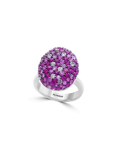 Effy Multi Pink Sapphire and Sterling Silver Ring-PINK-7